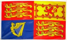 UK ROYAL STANDARD - HAND WAVING FLAG (MEDIUM)